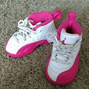 Jordans Sneakers Infant Girl Pink White